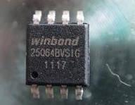 Микросхема Winbond W25Q16BVSIG W25Q16B SOP8
