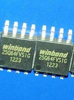 Микросхема Winbond W25Q64BVSIG 25Q64BVSIG 64M