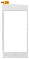 Сенсор (тач скрин) FLY FS451 Nimbus 1 white (оригинал)