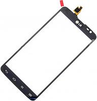 Сенсор (тач скрин) LG G Pro Lite D684, D685 Black (оригинал)