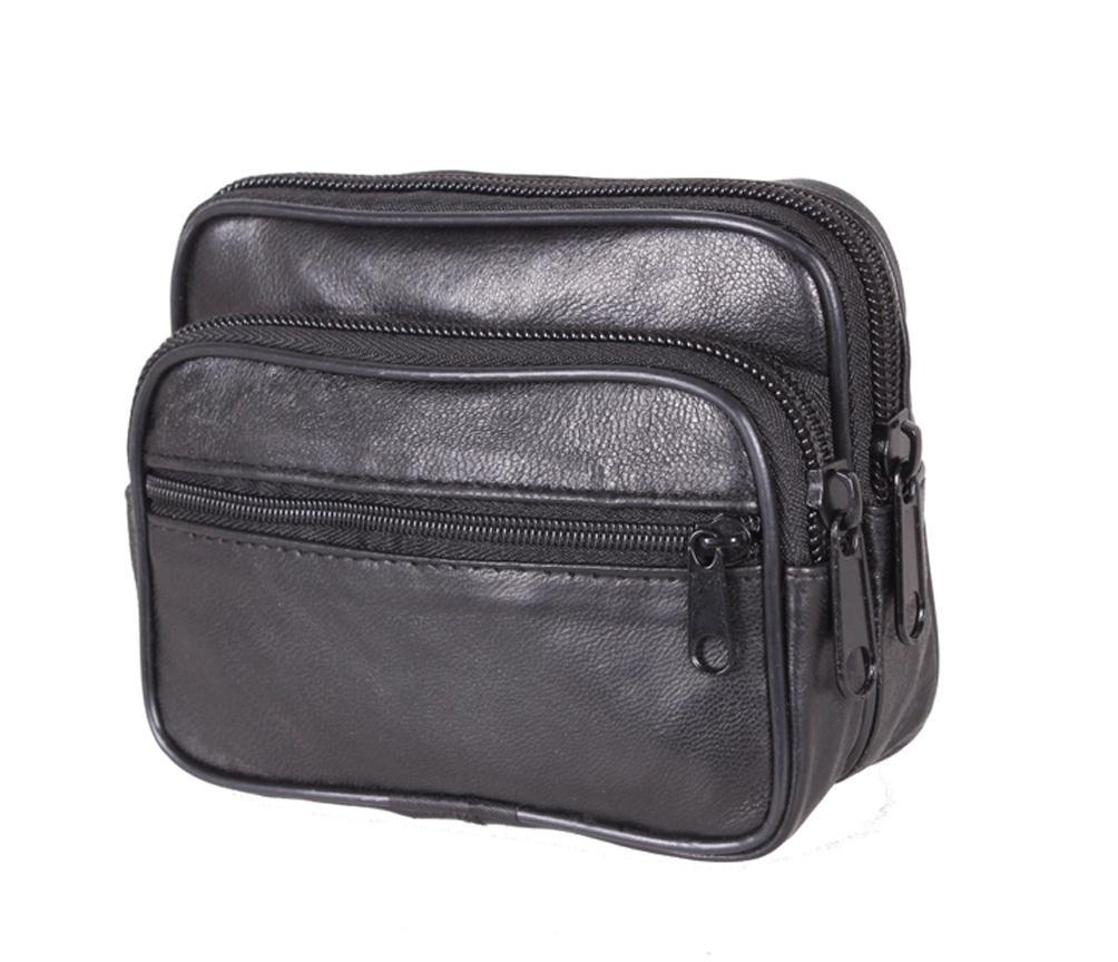 Кожаная сумка на ремень 303917