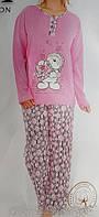 Пижама женская на байке 5102