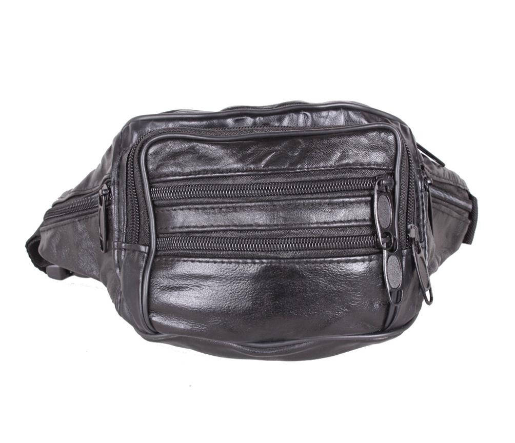 Мужская сумка на пояс из натуральной кожи 304325