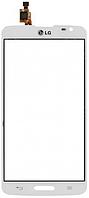 Сенсор (тач скрин) LG G Pro Lite D684, D685 White (оригинал)