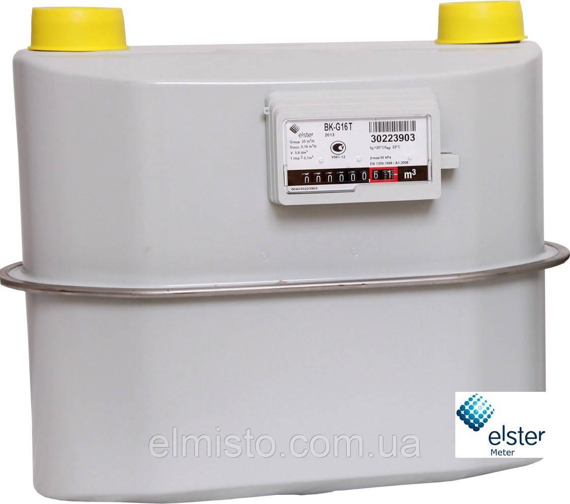 Счетчик газовый бытовой ВК G-16