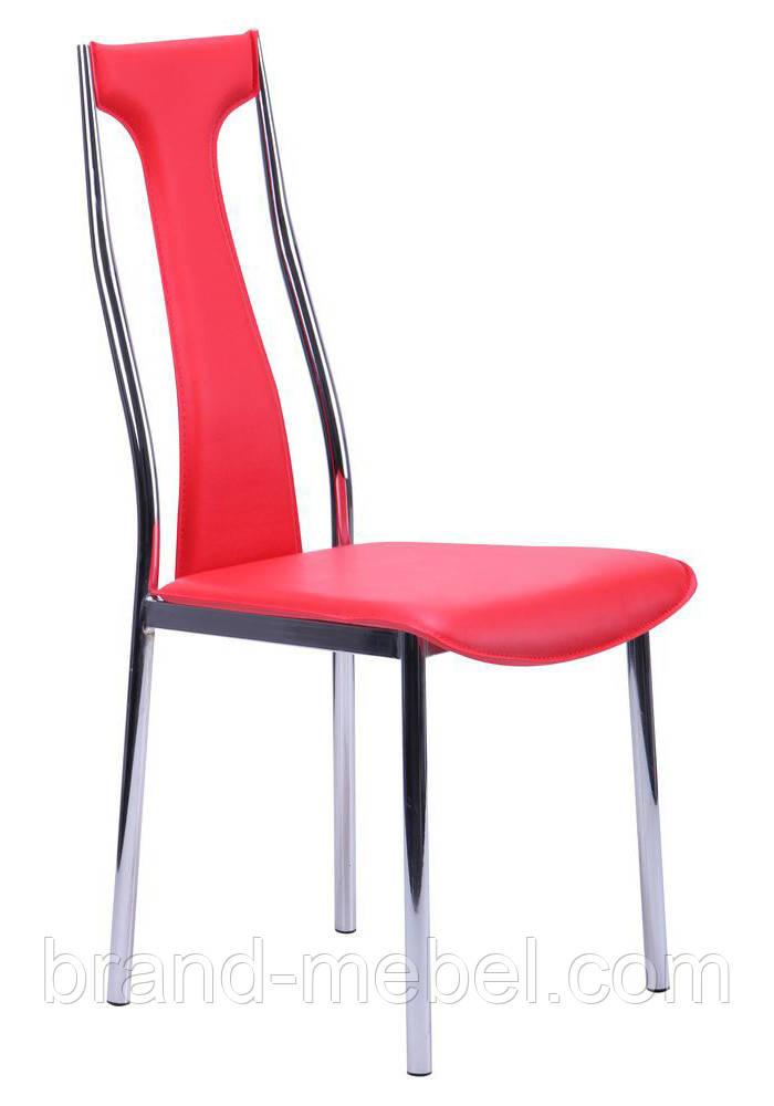 Стул KSD-022C хром красный