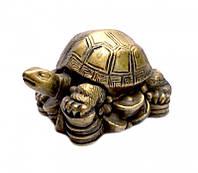 """Статуэтка """"Черепаха на монетах"""" символ долголетия"""