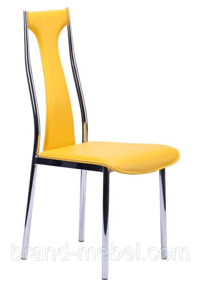 Стул KSD-022C хром желтый