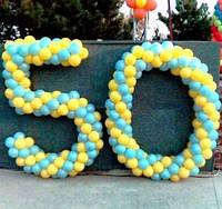 №14 Цифры из шаров