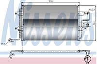Радиатор кондиционера Фольксваген Гольф IV 1997-->2005 Nissens (Дания) 94310