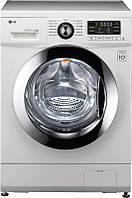 Стиральная машина LG FH096ND3, 1000 об/мин, 6кг, дисплей, прямой привод, 13 программ, 44 см, бак хром, Россия
