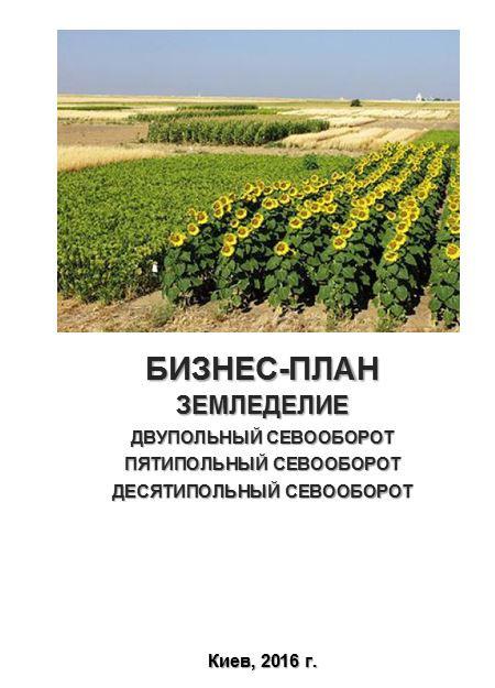 Бизнес – план (ТЭО). Выращивание зерновых в севооборотах. Подсолнечник, рапс, свекла, кукуруза, соя, пшеница.