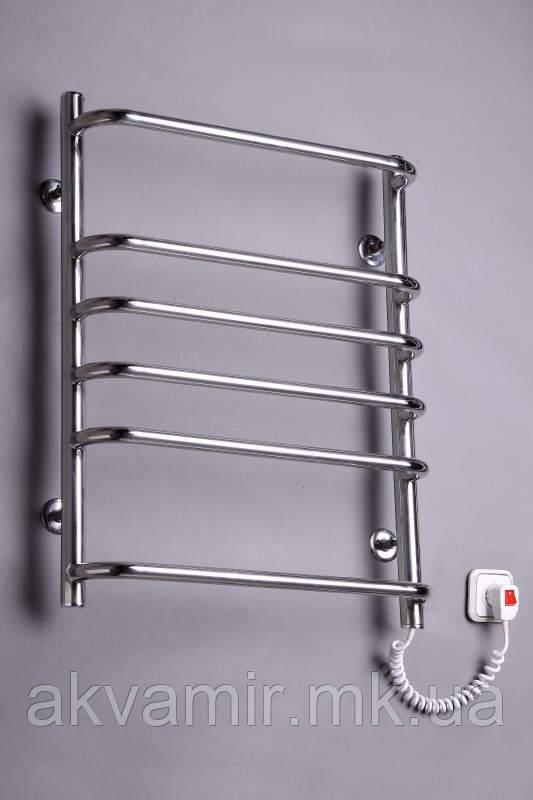 Полотенцесушитель Стандарт-6 635х480 нержавейка с регулятором температуры