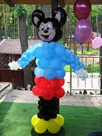 №24 Микки Маус из воздушных шаров 2.5м