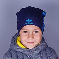Шапка детская весенняя спортивного бренда  - Артикул 1744с