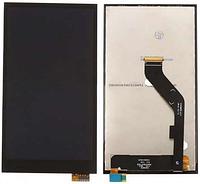 Дисплей (экран) + сенсор (тач скрин) HTC Desire 826 Dual Sim black (оригинал)