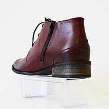 Ботинки женские бордовые Vento 1114, фото 2