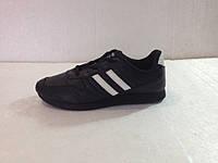Мужские кроссовки демисезонные чёрная подошва    К-01003
