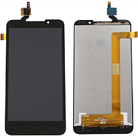 Дисплей (экран) + сенсор (тач скрин) HTC Desire 516 black (оригинал)
