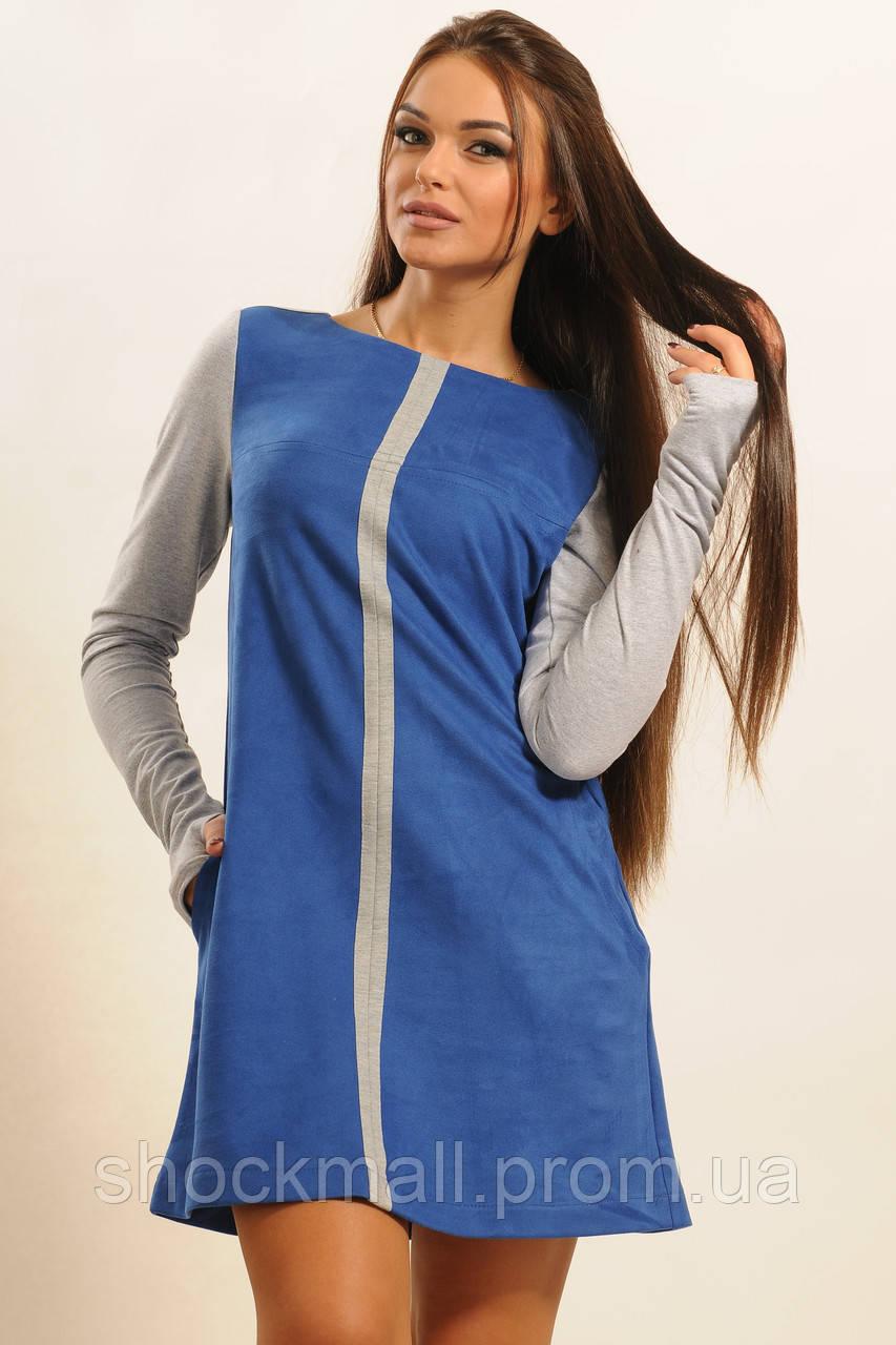 c609c1cec00 Замшевое платье А-силуэта