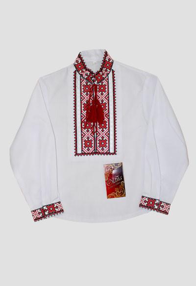 Вишиванка для Хлопчика  Орест (червона) Рубашка b4df3793905db