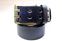 Синий брендовый ремень 'Giorgio Armani' 45 мм, фото 1