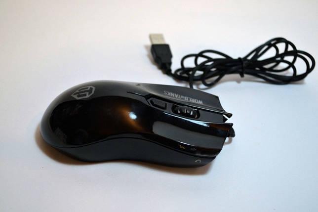 Мышь компьютерная проводная USB M31 Танки, фото 2