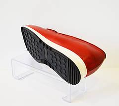 Слипоны женские красные Lan-Kars 448, фото 3
