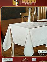Квадратная скатерть 160х160 для сервировки