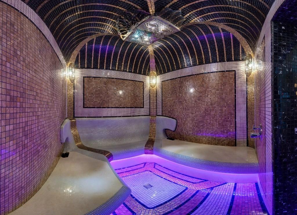 Турецкая баня (Дизайн,Строительство) Construction of a Turkish bath