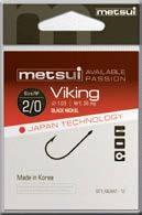 Крючки Metsui Viking № 10 - Южная Корея