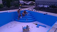 Покрытие для бассейнов пвх, Лайнер для бассейна, пвх покрытие,раскрой,монтаж