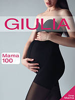 Колготки теплые для беременных MAMA 100, разные цвета от тм Giulia