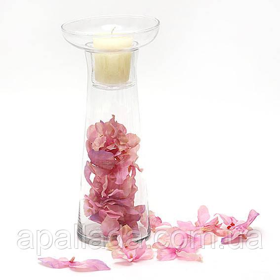 Подсвечник со съемным стаканом для декора