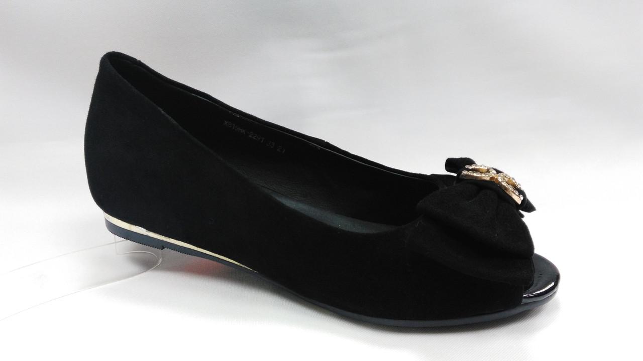 Туфли замшевые Erisses. Маленькие размеры.