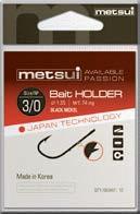 Крючки Metsui Bait Holder № 3/0 - Южная Корея