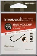 Крючки Metsui Bait Holder № 10 - Южная Корея
