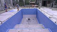Монтаж пвх покрытий для бассейнов, монтаж пленочных покрытий