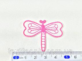 Нашивка бабка колір рожевий