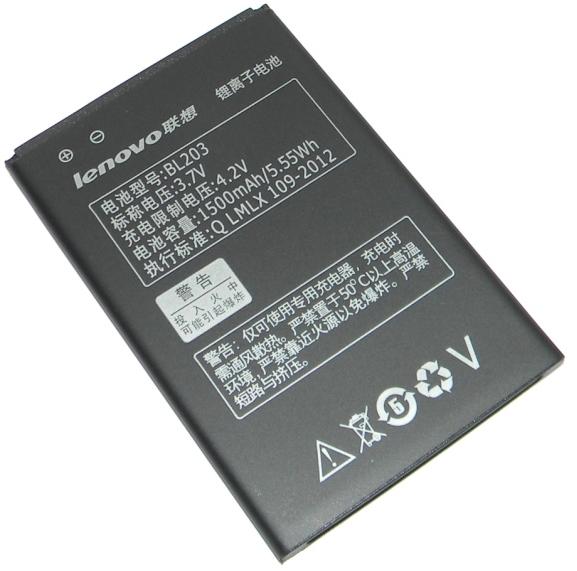 Акумулятор Lenovo BL-203 1500 mAh Оригінал