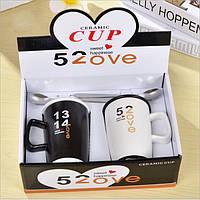 Оригинальный подарочный набор чашек  Love Cup