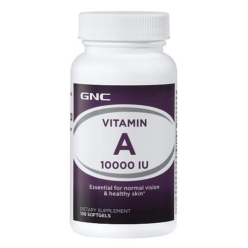 Vitamin A 10000 GNC 100 caps