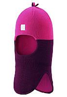 Зимняя шапка шлем для девочек Reima Myrsky 518364-4900. Размер 46 - 52.