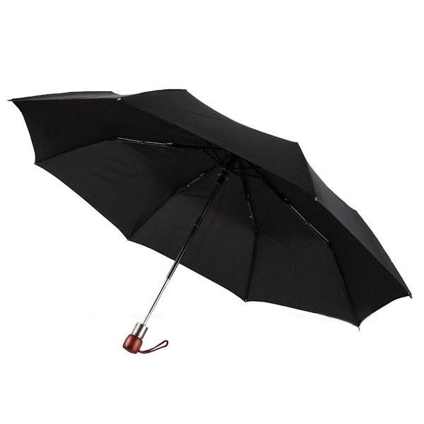Зонт мужской Zest 43630, с деревянной ручкой, полуавтомат