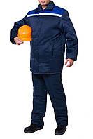 """Куртка утепленная """"Легион"""" (цвет: темно-синий с васильковым)"""