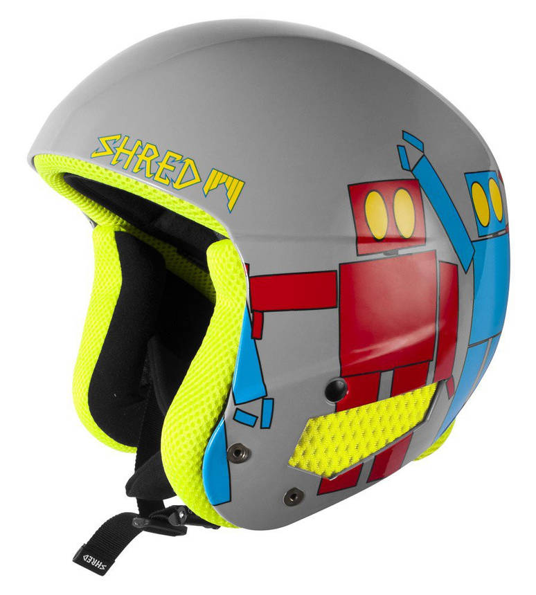Шлем Shred Brain Bucket Robot, фото 2