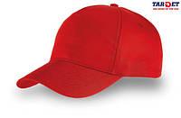Кепка бейсболка START FIVE красная
