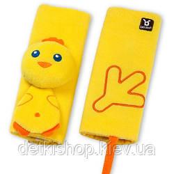 Накладки на ремни безопасности BanBet (цыплёнок, 0-12 мес)