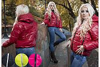 Женская куртка монклер на синтепоне осень весна разные цвета