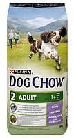 Сухой корм Purina Dog Chow Adult Lamb с ягненком, гипоаллергенный 14 кг